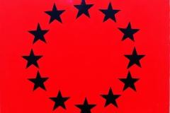 Anarchi flag EU.2007, formát 56 X 76cm